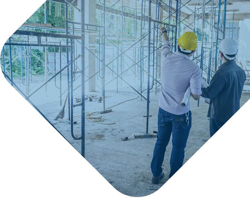 Visuel d'illustration présentant un chantier